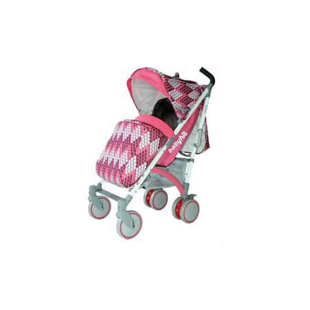 Baby Hit Коляска-трость Rainbow RHOMBUS, Baby Hit, розовый  — 8384р.  Rainbow, Baby Hit( бэби хит)  – коляска-трость для детей от 6 месяцев до 3 лет. Для дополнительной безопасности малыша коляска оснащена съемным бампером, 5-точечными ремнями и паховым ремнем. 3 положения спинки и регулируемая подножка помогут вашему ребенку удобно расположиться и отдохнуть. Передние плавающие колеса можно зафиксировать; все колеса амортизированы. Капюшон-батискаф опускается до бампера коляска в случае…