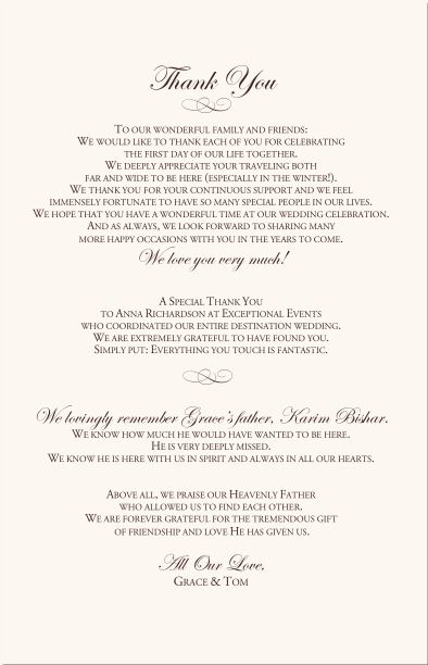 Best 25+ Wedding program thank you ideas on Pinterest Wedding - wedding agenda sample