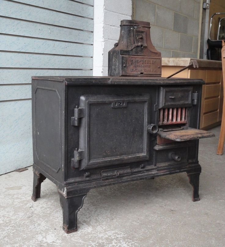RARE ANTIQUE VICTORIAN CAST IRON THE BELLE STOVE OVEN GUS DAVIES KENTISH TOWN | eBay