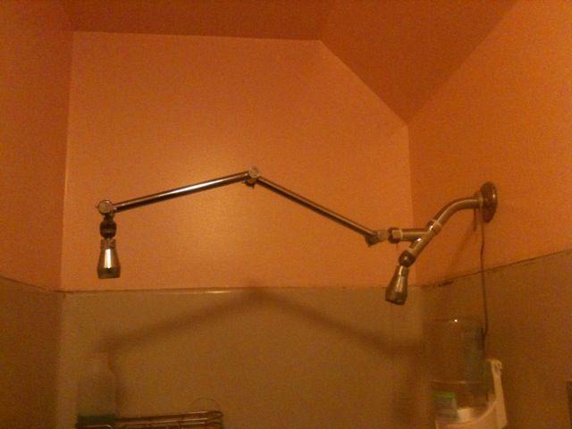 Comfortable Moen Shower Arm Extension Pictures Inspiration ...