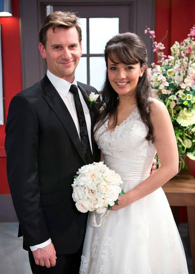 Lucas & Vanessa #neighbours #neighbourswedding