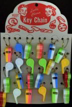 Remember those two toned plastic whistles?