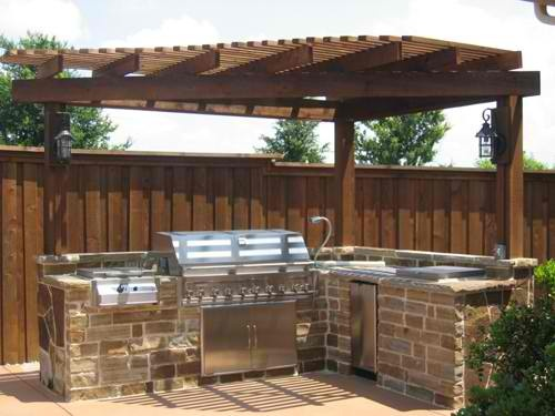 206 Best Patio Covers U0026 BBQ Islands Images On Pinterest | Outdoor Kitchens,  Backyard Kitchen And Outdoor Kitchen Design