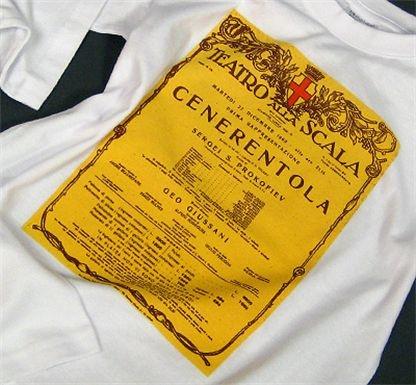 T-shirt Cenerentola La Scala - Milano: Tshirt Allascala, Cenerentola Tshirt, Allascala Teatroallascala, Cenerentola La, T Shirts Cenerentola, Alla Scala, Tshirt Cenerentola