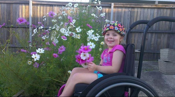 A mere bump or cough could kill seven year old Chloe Saxby