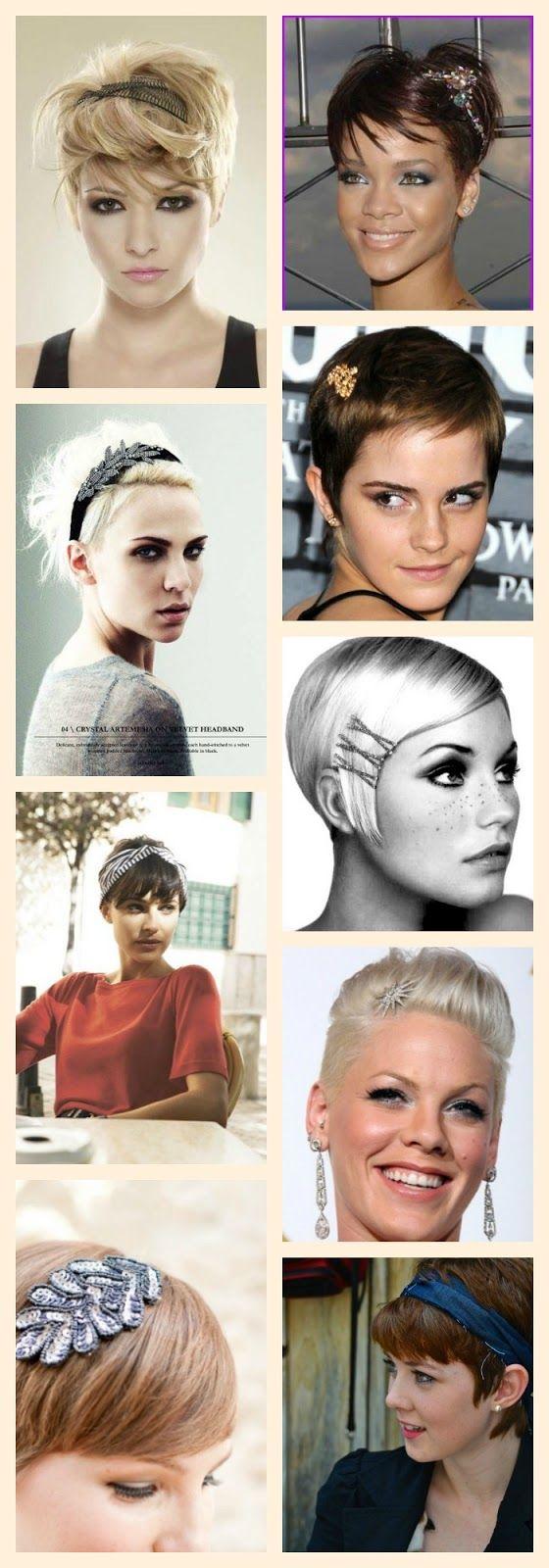 Pleasing 1000 Ideas About Short Hair Accessories On Pinterest Hairstyles Short Hairstyles Gunalazisus