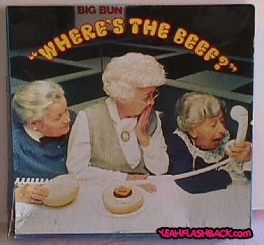 Where's the BEEF??: 80S, Remember, Childhood Memories, Beef, Memory Lane, Commercial, 80 S