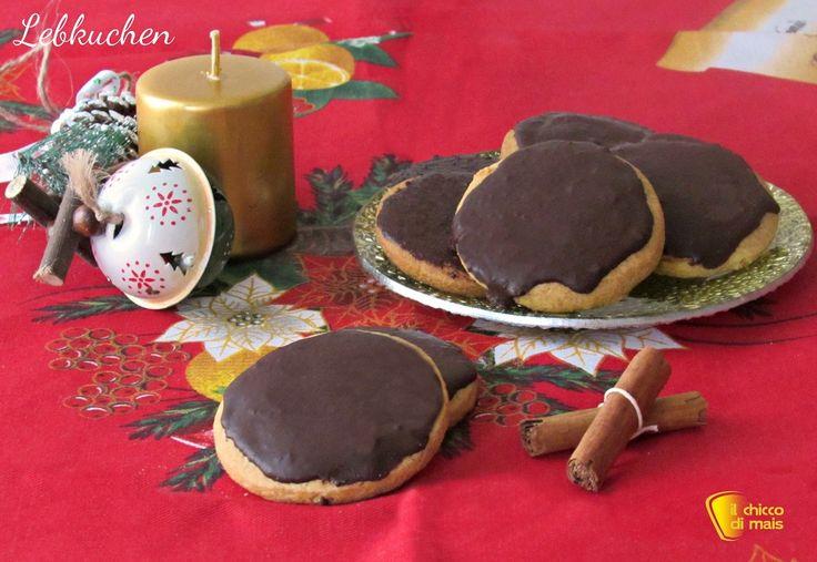 i dolci di natale Lebkuchen ricetta biscotti speziati di Natale il chicco di mais