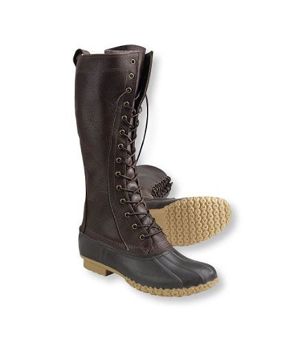 These boots are dead sexy. And they're from LL Bean. Unfortunately, the smallest size they come in is a Men's 7.  Damn my small lady feet!