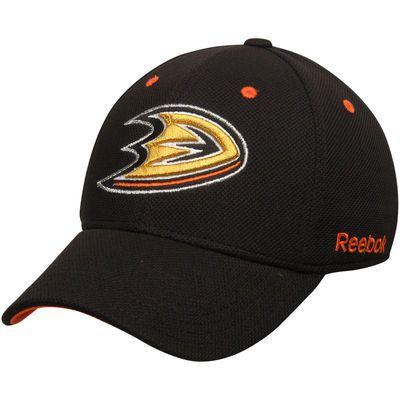Anaheim Ducks Reebok Face-Off Team Structured Flex Hat - Black