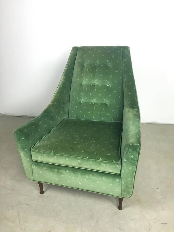 Rare Paul Mccobb Symmetric Group Lounge Chair 4