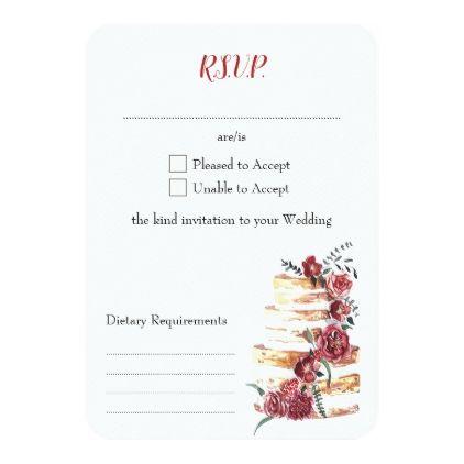 Best 25 DIY wedding rsvp cards ideas – Birthday Rsvp Cards