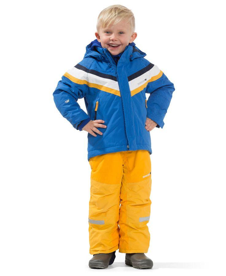 Didriksons Safsen Kids Ski Jacket - Indigo