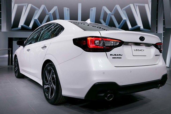 2020 Subaru Legacy Seventh Generation Subaru Boxer
