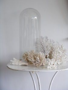 French table, marriage dome and coral.  xo--FleaingFrance