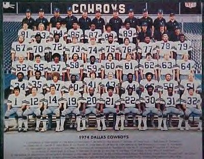 Bob Lilly Photography | 1974 Dallas Cowboys Team Photo TOO TALL JONES