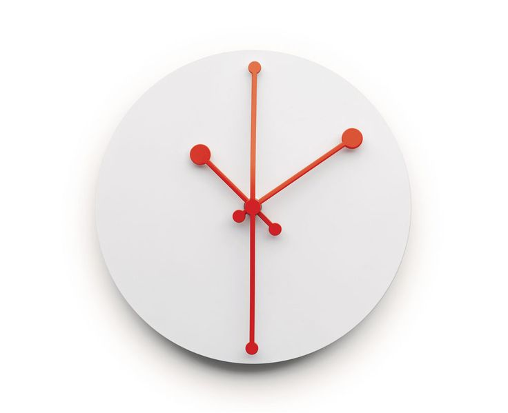 DOTTY CLOCK / DESIGN ABI ALICE / BY ALESSI / YEAR 2016 | #homi2016 #design #homedecor @alessiofficial