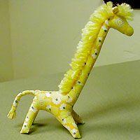 Жираф - мягкая игрушка, шьем сами, выкройка