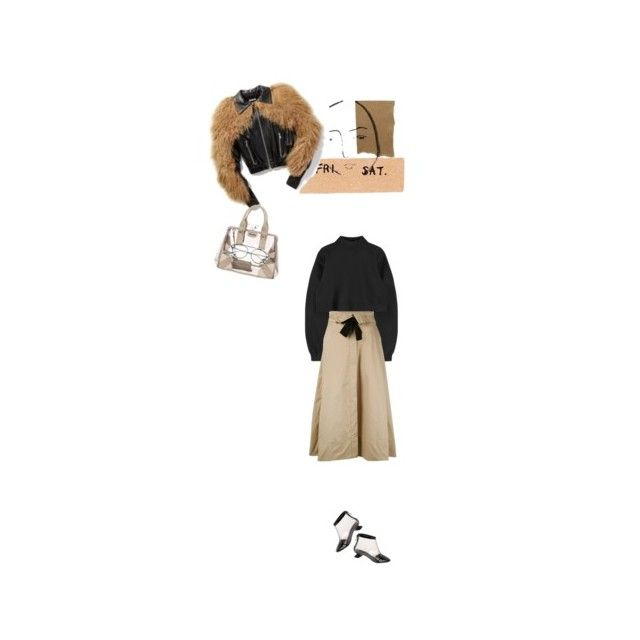 """""""the weekend"""" by tartlet ❤ liked on Polyvore featuring Prada, Dorothee Schumacher and Chanel"""