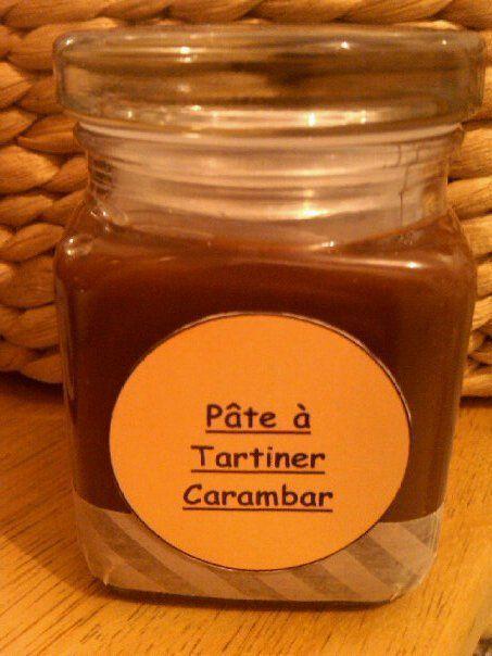 Cadeaux Gourmands 1 -PÂTE A TARTINER CARAMBAR