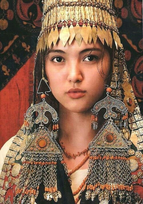 Kyrgyzstan jewelry.  Pectoral pieces are absolutely phenomenal!!! …