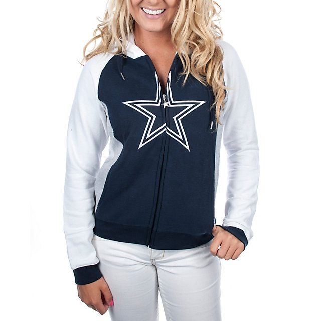 Dallas Cowboys Womens Tailgate Full Zip Hoodie | Outerwear | Other | Womens | Cowboys Catalog | ShopCowboys