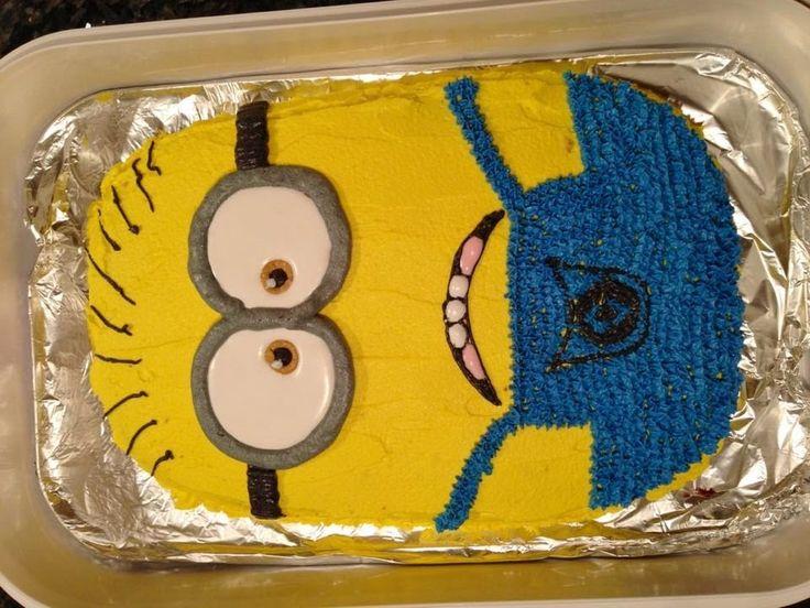 Best 25 minion cake pan ideas on pinterest minion cake tutorial minion cake decorations and - Cake decorations minions ...