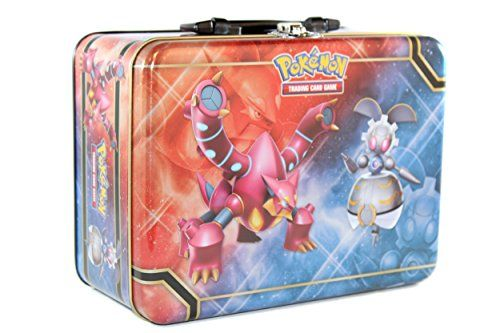 1 Empty Collector Chest featuring Volcanion and Magearna Legal Information © 2016 Pokémon. © 1995 - 2016 Nintendo/Creatures Inc./GAME FREAK inc. Pokémon and Pokémon character names are trademark...