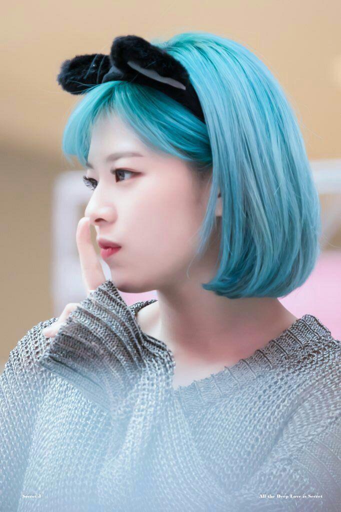 Semua Hanya Kebetulan Jeongmin Rambut Pendek Rambut Biru Selebritas