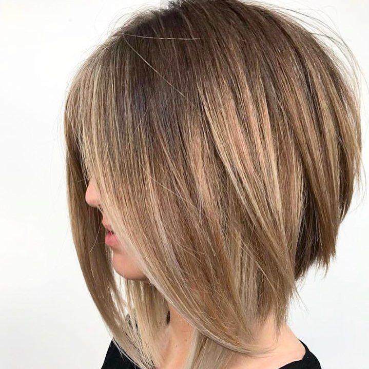 No Title Haircut For Thick Hair Angled Bob Haircuts Hair Styles