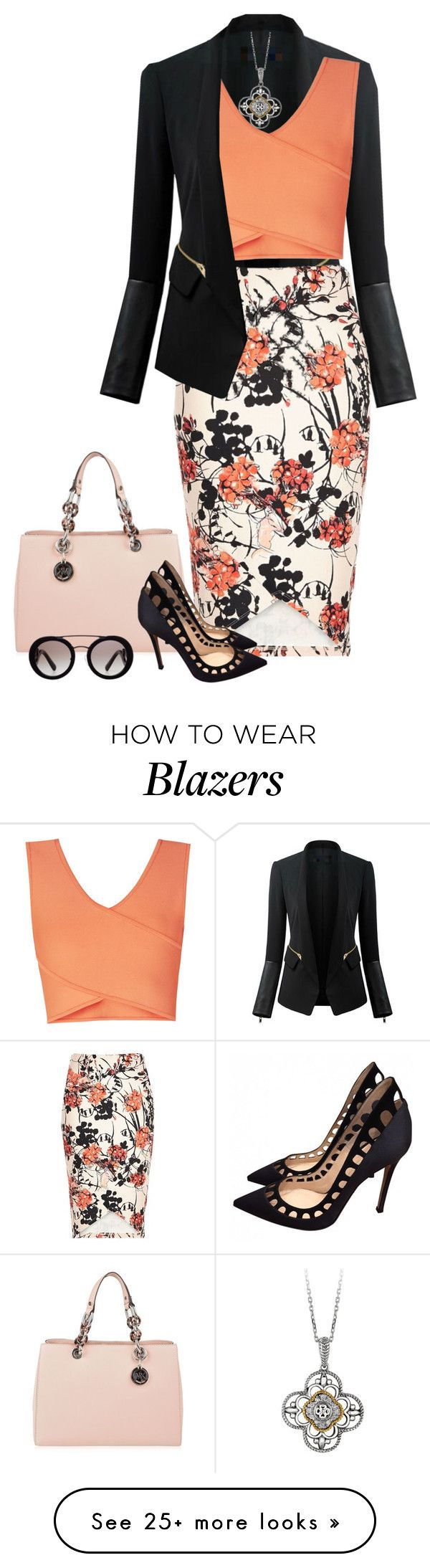"""Untitled #2499"" by elia72 on Polyvore featuring Chicsense, MICHAEL Michael…"