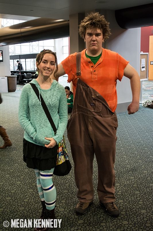Best Reck-it Ralph and Venellope costume cosplay EVER!