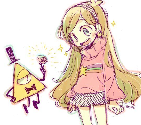 Gravity falls anime waddles