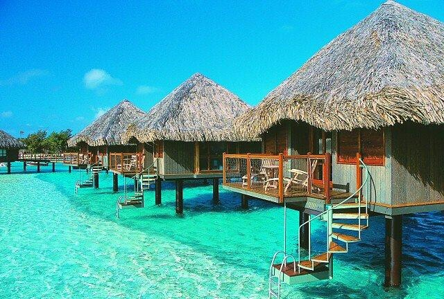 My dream vacation spot: One Day, Oneday,  Thatched Roof, Buckets Lists, Favorite Places, Dreams Vacations, Places I D, Best Quality, Borabora