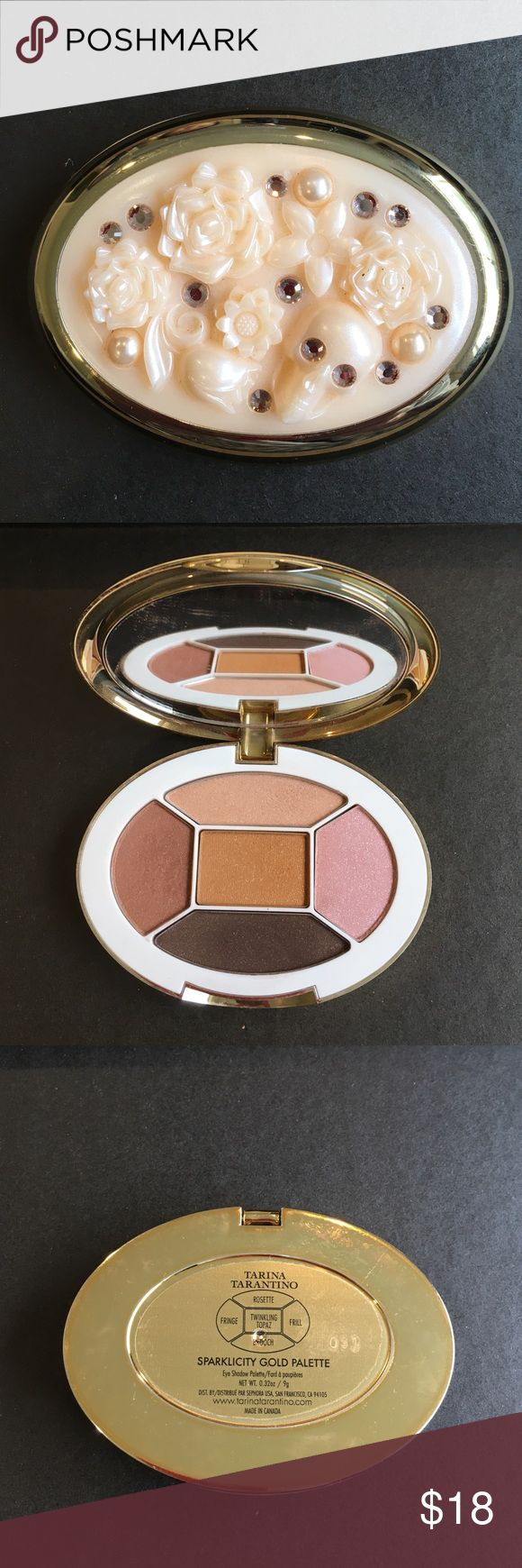 Tarina Tarantino eyeshadows Use once. See pic. Beautiful color. High quality Tarina Tarantino Makeup Eyeshadow