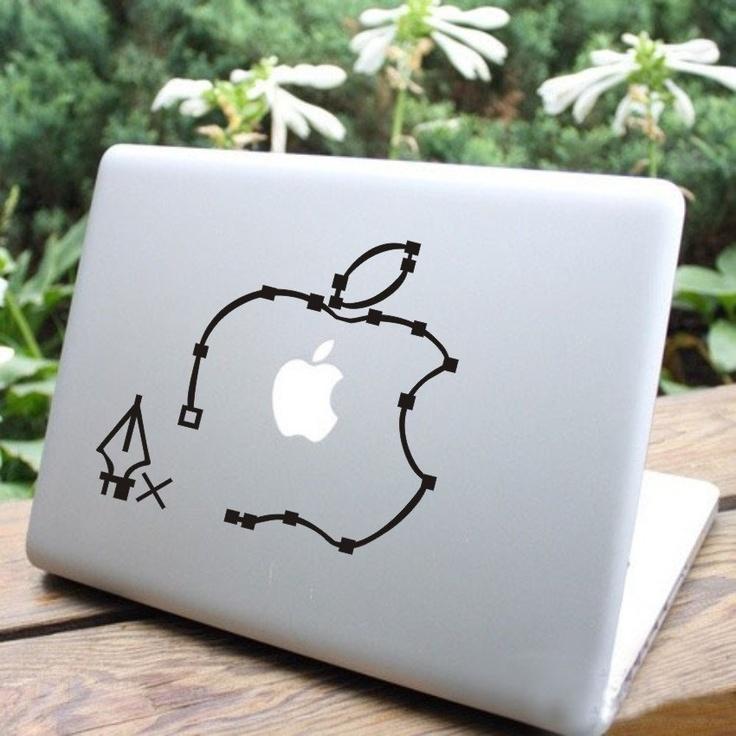 Apple mac decal mac sticker macbook decals macbook by alicedecal