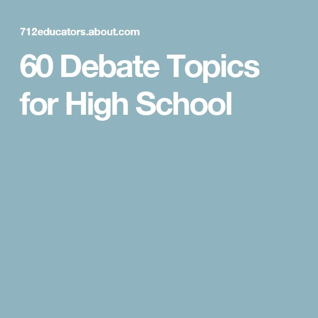 Good opinion paper topics