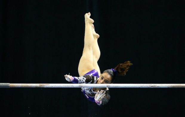 Several Facebook users slammed Malaysian gymnast Farah Ann Abdul Hadi on Buletin TV3's Facebook page. — Reuters pic