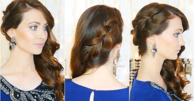 8 peinados de fiesta que son simplemente perfectos, ¡mira el tutorial!