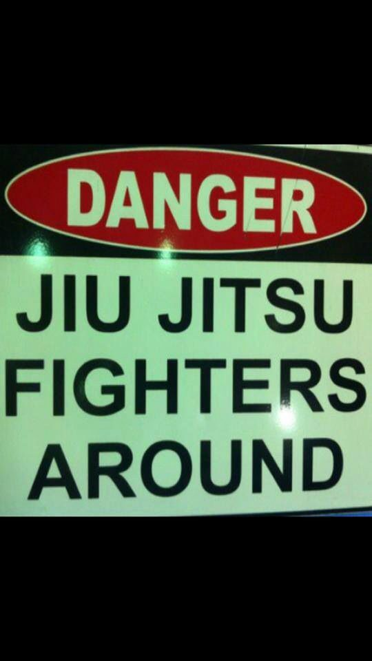bjj danger. jiu jitsu fighters around.