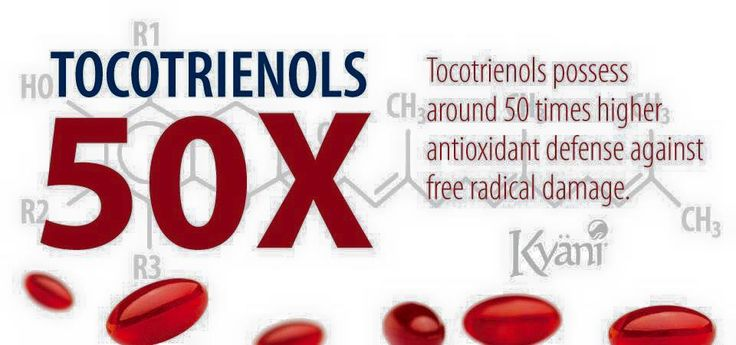 Tocotrienols possess around 50 times higher antioxidant activity against iron induced lipid peroxidation. Free radicals exist within the body and steal electrons from the lipids in our cell membranes which results in cell damage. With antioxidants as one of the first lines of defense that the body employs to keep free radicals in check, having 50 times higher antioxidant levels to work against these free radicals, will result in less cell damage. Nimergood.kyani.net