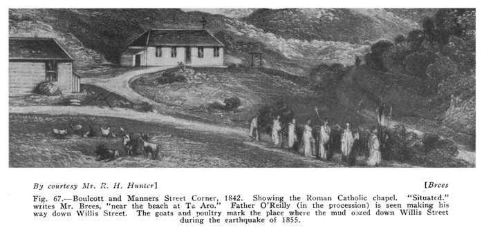 Cnr Boulcott & Manners St 1842