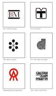 Vicente Rojo. Tipografías y logotipos