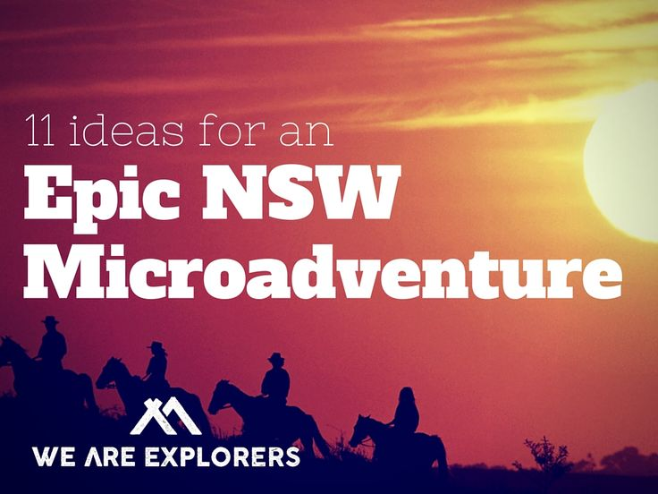 Whose looking for an adventure injection this Summer? Too busy or too skint to fly somewhere? F#*k that - these 11 Microadventure ideas are just your ticket