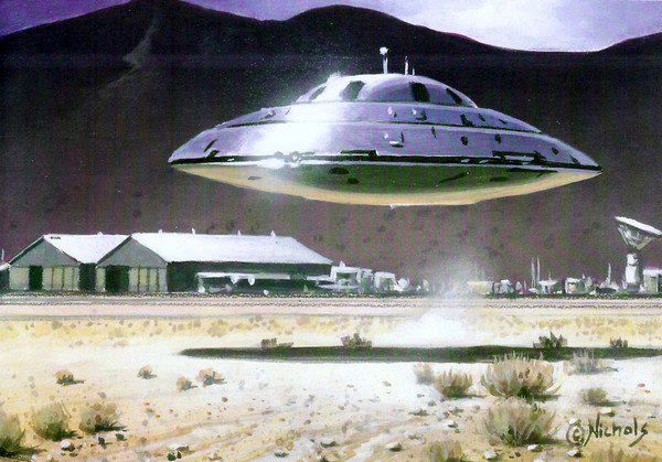 UFO at Area 51