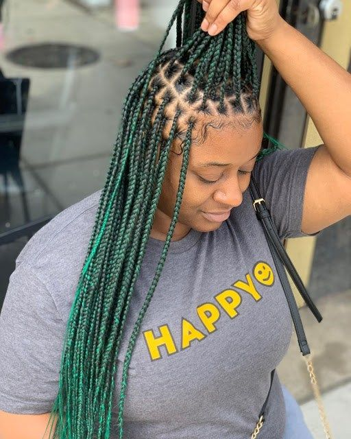 2020 Braid Hairstyle For Beautiful African Woman To Try Out This