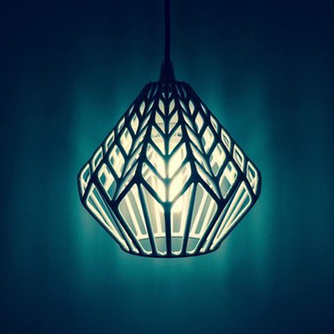 Download on https://cults3d.com #3Dprinting #Impression3D 3D printed LUX lamp shade, Salokannel
