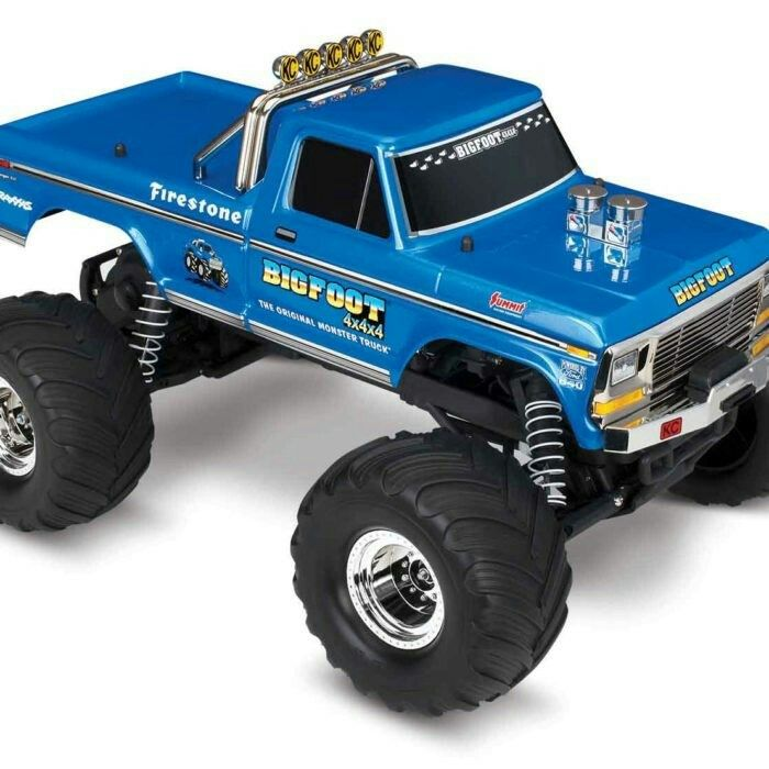 Traxxas Bigfoot The Original Monster Truck Blue