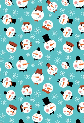 Snowmen by Ed Miller Design, via Behance