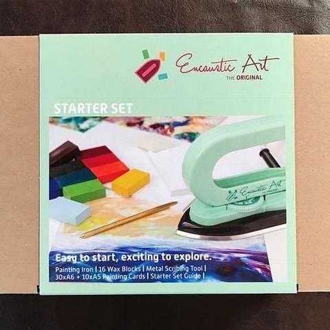 Encaustic Art: Encaustic Starter Painting Set